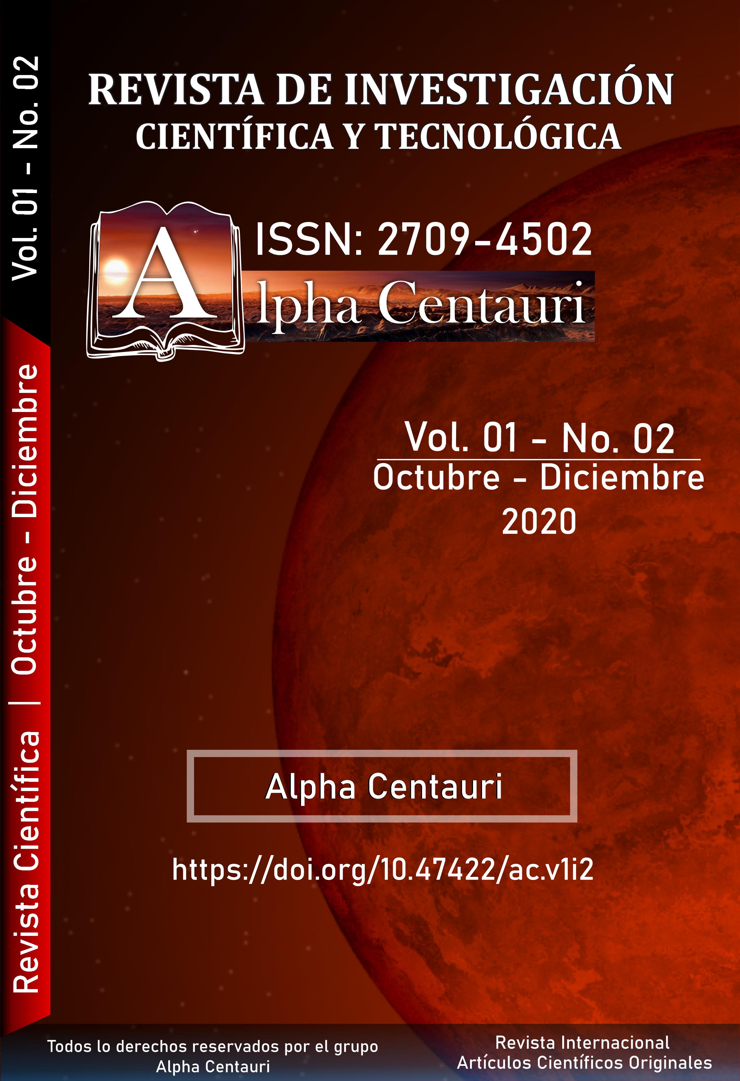 Ver Vol. 1 Núm. 2 (2020): ALPHA CENTAURI
